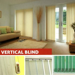 ROLLING DOOR ONE SHEET JATIASIH ROLLER VERTICAL BLIND