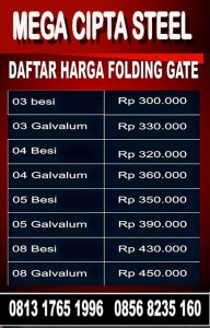 FOLDING GATE CAKUNG